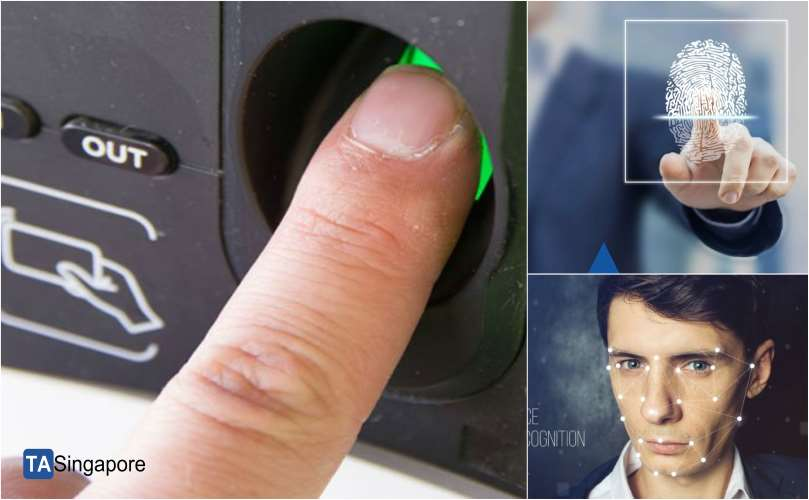 2. Biometric Time & Attendance System